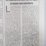 Article de L'Inter n°5914 sur le Cocktail de la Performance spécial Big Data organisé par MGT Conseils